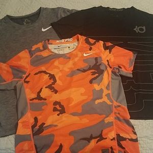 Lot of Nike dri fit shirts